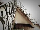 Smeedijzeren trapleuning en balustrade